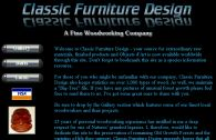 Classic Furniture Design - Temporarily Off Line